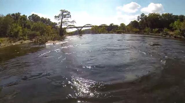 swim to the bridge